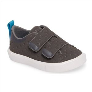 Native Monaco Velcro Dublin Grey Sneaker